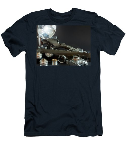 Antique Cameras Men's T-Shirt (Athletic Fit)