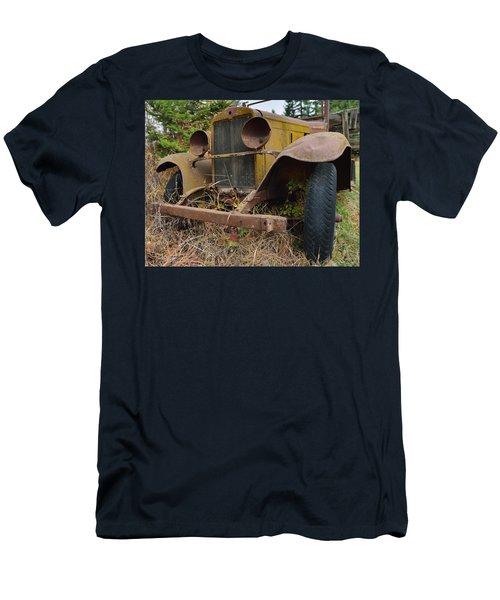 Antique Pickup Truck Men's T-Shirt (Athletic Fit)