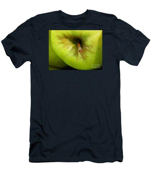 Apple Men's T-Shirt (Slim Fit) by Sarah Loft
