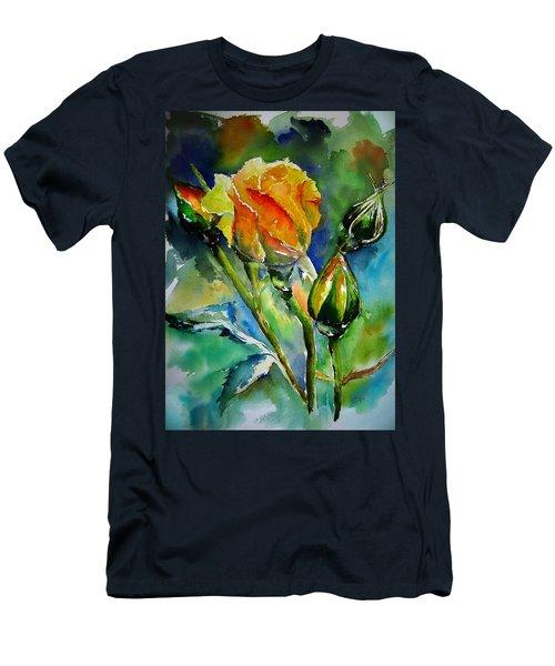 Aquarelle Men's T-Shirt (Athletic Fit)
