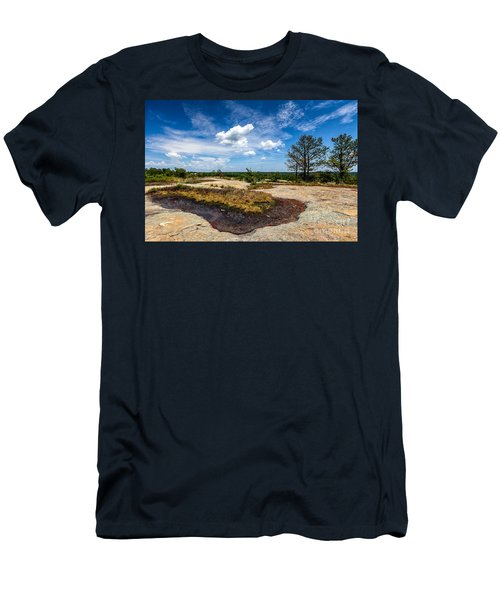 Arabia Mountain Preserve Men's T-Shirt (Athletic Fit)