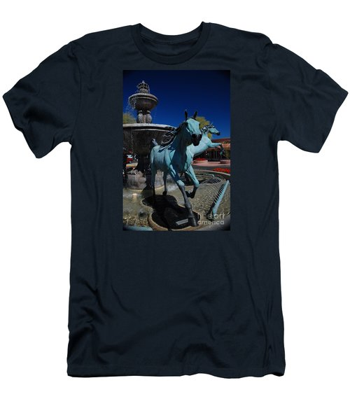 Arabian Horse Sculpture Men's T-Shirt (Athletic Fit)