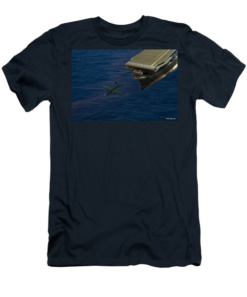Army Pilots Man Your Planes Men's T-Shirt (Athletic Fit)