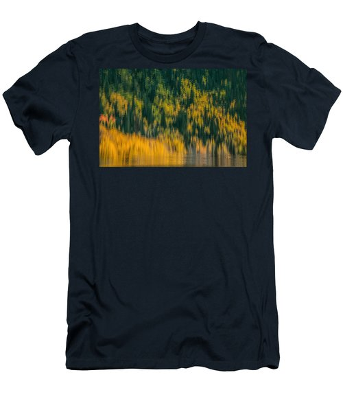 Men's T-Shirt (Slim Fit) featuring the photograph Aspen Abstract by Ken Smith