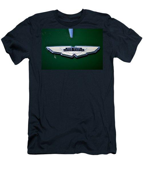 Aston Martin Badge Men's T-Shirt (Athletic Fit)