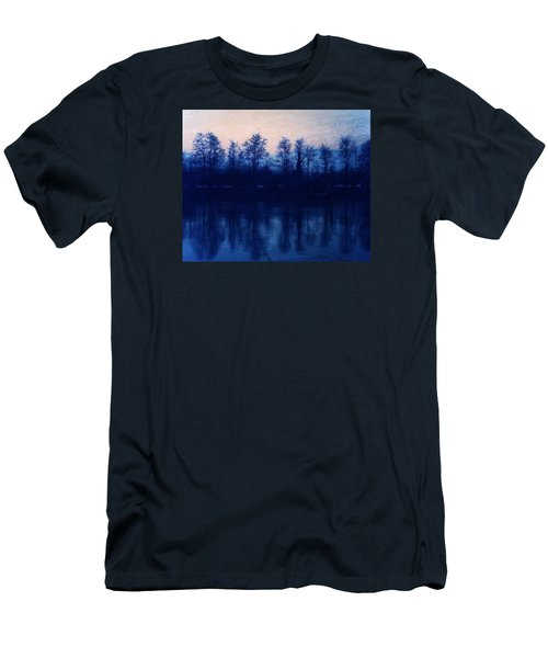 At The End Of The Day Men's T-Shirt (Slim Fit) by Vittorio Chiampan
