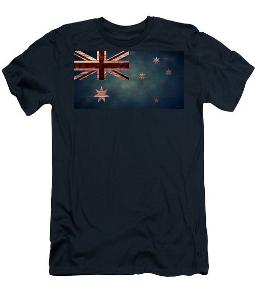 Australian Flag I Men's T-Shirt (Athletic Fit)