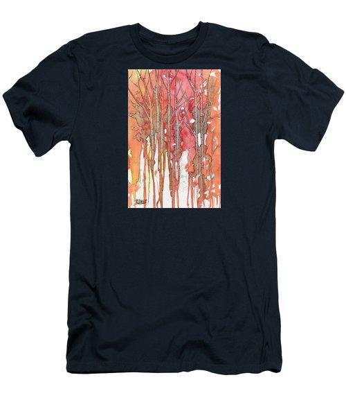 Autumn Abstract No.1 Men's T-Shirt (Athletic Fit)