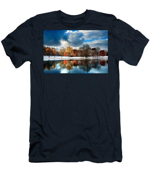 Autumn Finale Men's T-Shirt (Slim Fit) by Rob Blair