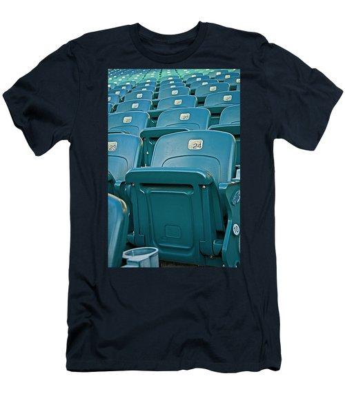 Awaiting The Crowds Men's T-Shirt (Slim Fit) by Michael Porchik