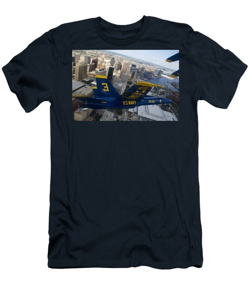 Banking Above Baltimore Men's T-Shirt (Athletic Fit)