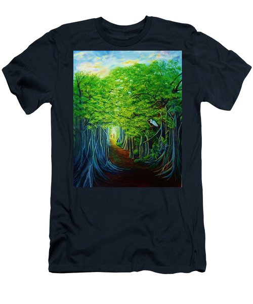 Banyan Walk Men's T-Shirt (Athletic Fit)