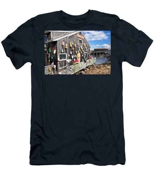 Bar Harbor Restaurant Men's T-Shirt (Athletic Fit)