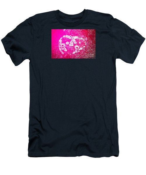 Men's T-Shirt (Slim Fit) featuring the photograph Barnacle Heart by Cynthia Lagoudakis