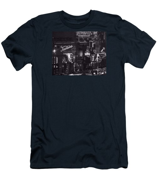 Bars On Broadway Nashville Men's T-Shirt (Athletic Fit)