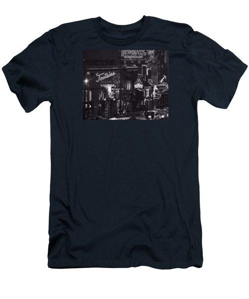 Bars On Broadway Nashville Men's T-Shirt (Athletic Fit)