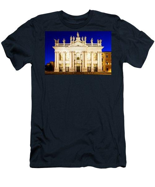 Basilica Di San Giovanni In Laterano Men's T-Shirt (Athletic Fit)