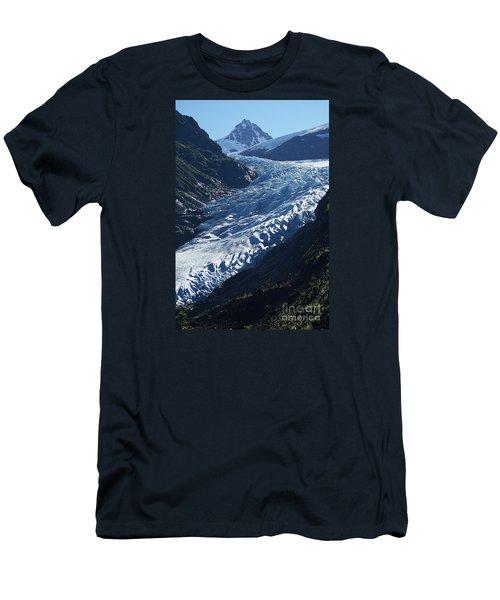 Bear Glacier Men's T-Shirt (Slim Fit) by Stanza Widen