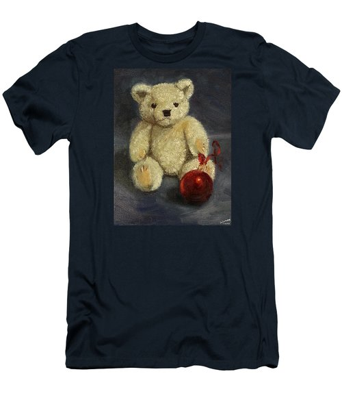 Beary Christmas Men's T-Shirt (Athletic Fit)