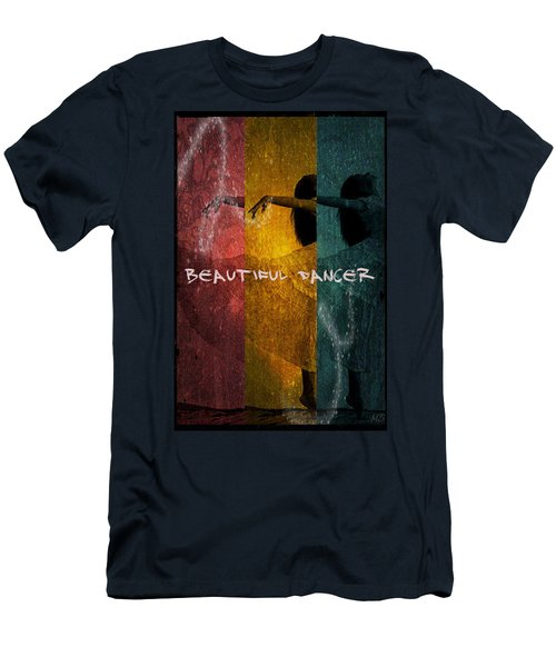 Beautiful Dancer Men's T-Shirt (Slim Fit) by Absinthe Art By Michelle LeAnn Scott
