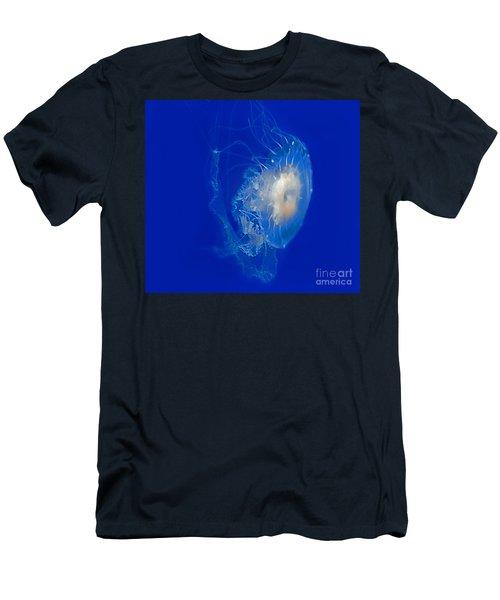 Beautiful Jelly Fish Art Prints Men's T-Shirt (Slim Fit) by Valerie Garner