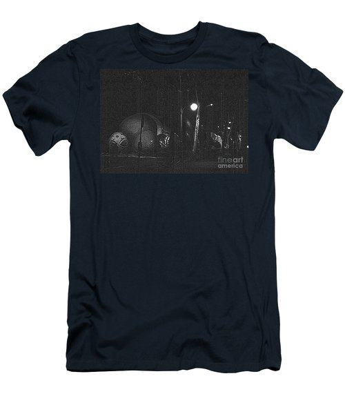 Men's T-Shirt (Slim Fit) featuring the photograph Before The Big Parade by Steven Macanka