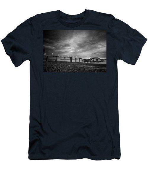 Before The Rain Men's T-Shirt (Athletic Fit)
