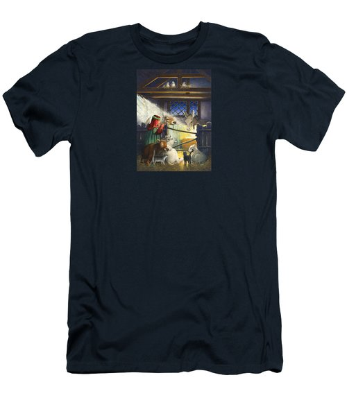 Behold The Child Men's T-Shirt (Athletic Fit)