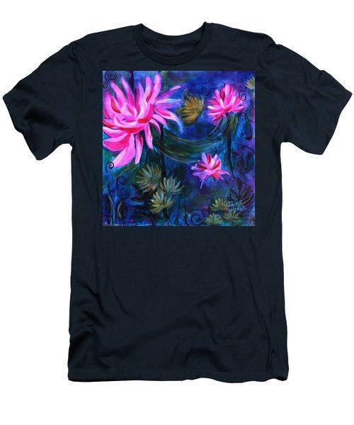 Beneath Dark Lotus Waters Men's T-Shirt (Athletic Fit)