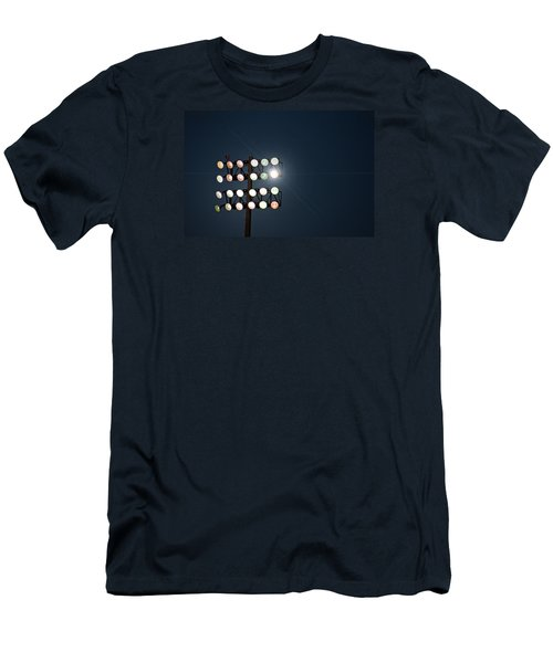 Beneath Friday Night Lights Men's T-Shirt (Slim Fit) by Trish Mistric