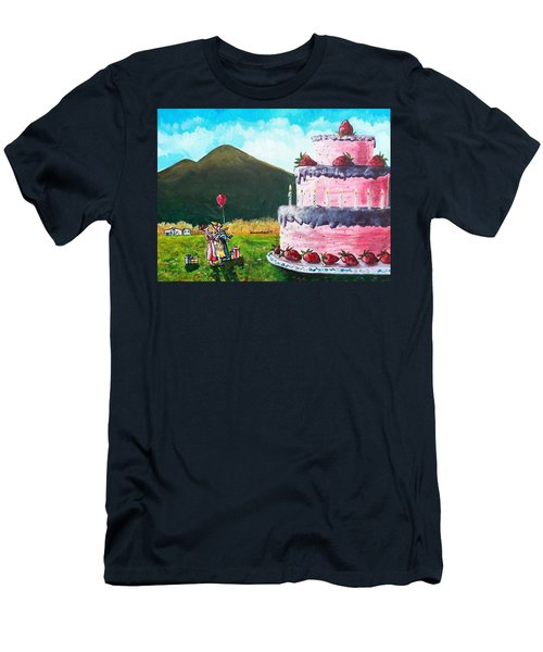 Big Birthday Surprise Men's T-Shirt (Athletic Fit)