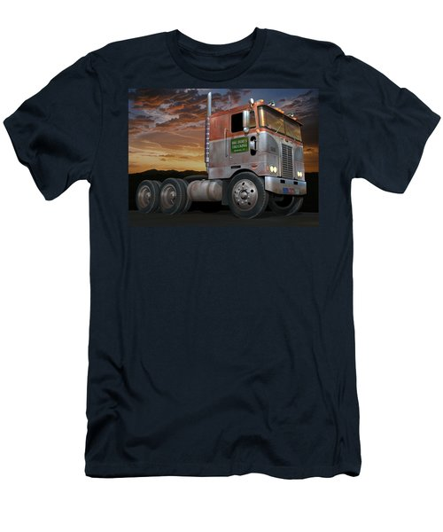 Big Bob's Cabover Men's T-Shirt (Slim Fit) by Stuart Swartz
