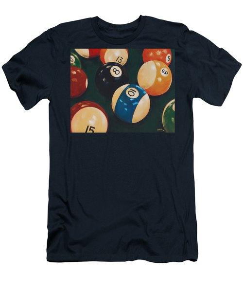 Billiards Men's T-Shirt (Athletic Fit)