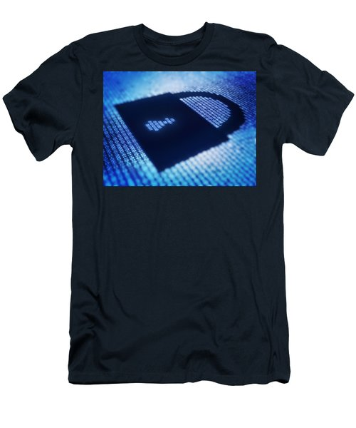 Electronic Data Security Men's T-Shirt (Athletic Fit)