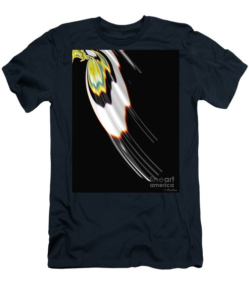 Bird Wing Fractal Men's T-Shirt (Athletic Fit)