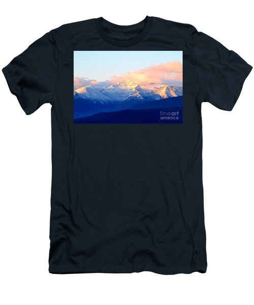 Bitterroot Mountains Montana Men's T-Shirt (Slim Fit) by Joseph J Stevens