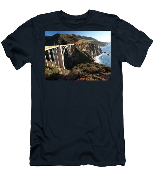 Bixby Bridge Afternoon Men's T-Shirt (Athletic Fit)