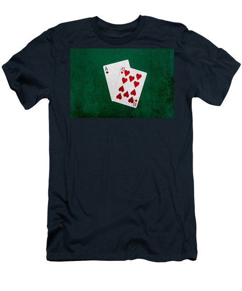 Blackjack Twenty One 1 Men's T-Shirt (Athletic Fit)