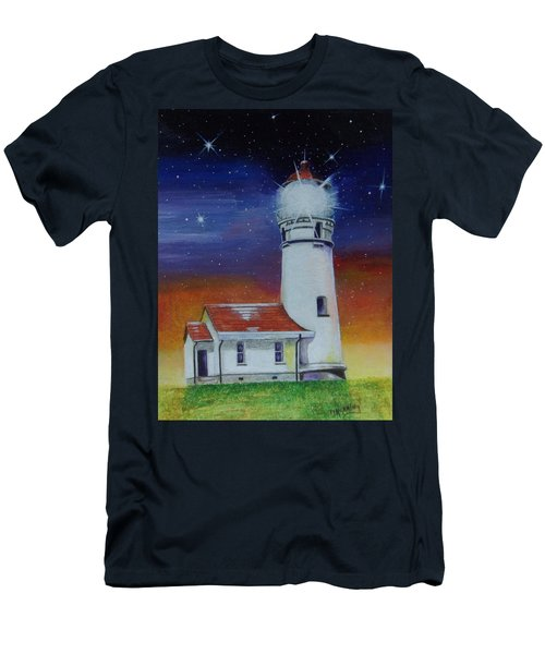 Blanco Lighthouse Men's T-Shirt (Athletic Fit)