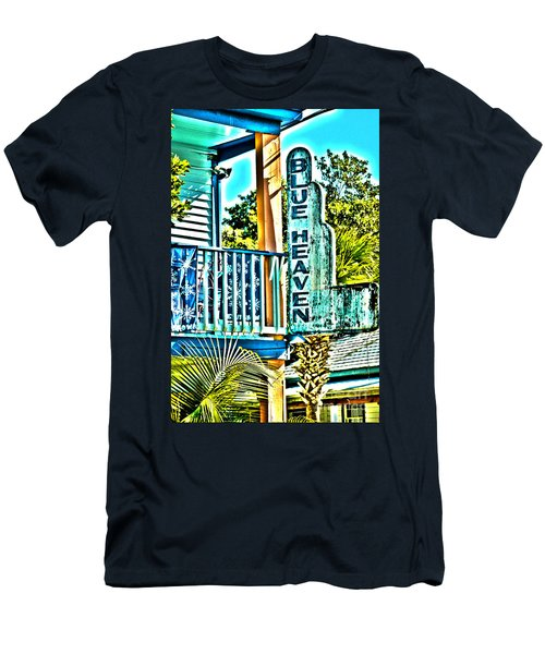 Blue Heaven In Key West - 1 Men's T-Shirt (Athletic Fit)