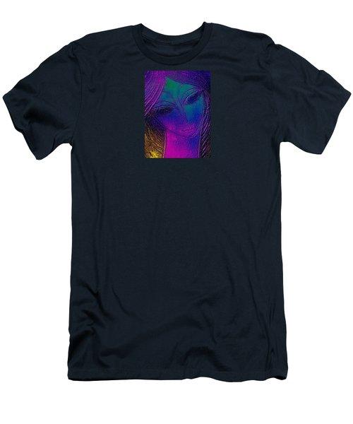 Blue Lady Men's T-Shirt (Athletic Fit)