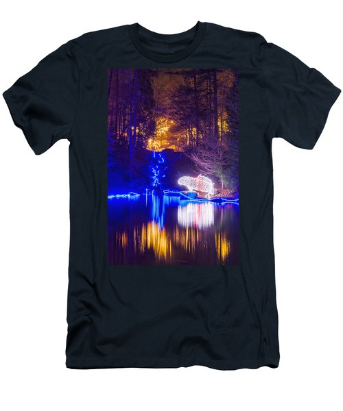 Blue River - Full Height Men's T-Shirt (Athletic Fit)