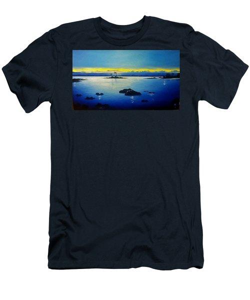 Blue Skies Men's T-Shirt (Slim Fit) by Kelly Turner