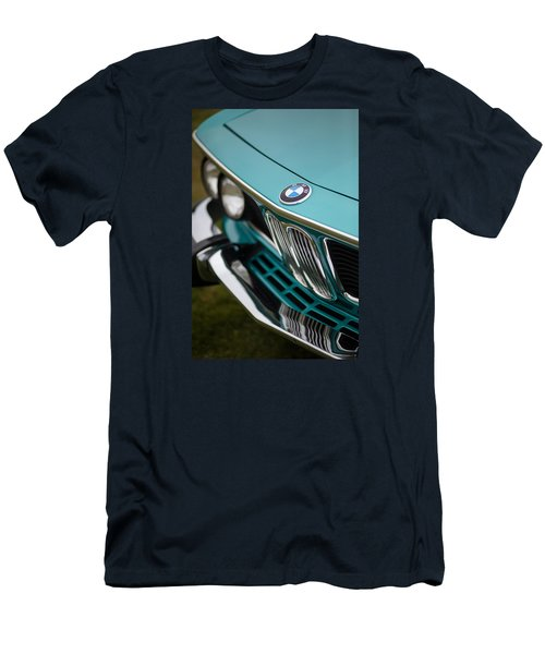 Bmw 3.0 Cs Front Men's T-Shirt (Slim Fit) by Mike Reid