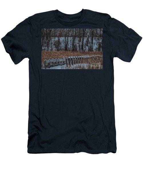 Men's T-Shirt (Slim Fit) featuring the photograph Boardwalk Series No2 by Bianca Nadeau