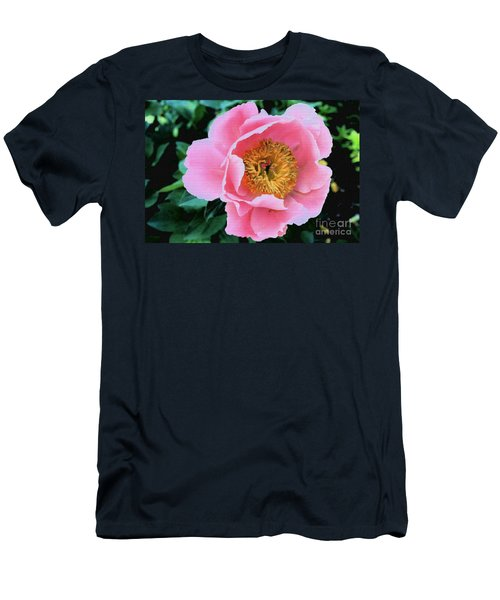 Bodacious Peony Men's T-Shirt (Athletic Fit)
