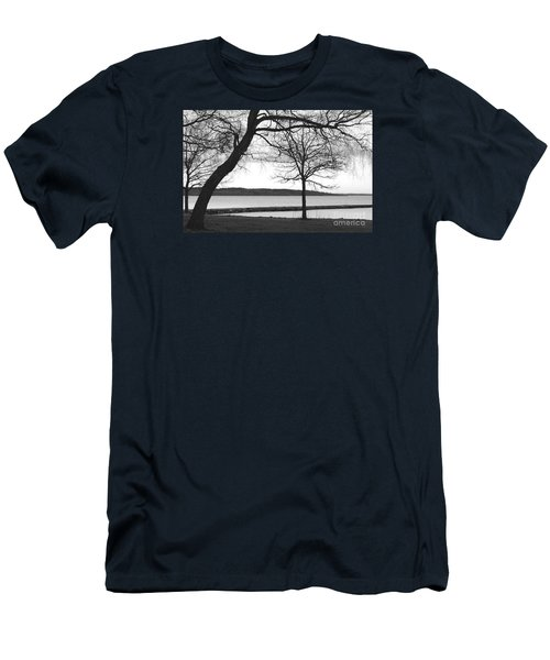 Borrestranda Men's T-Shirt (Slim Fit) by Randi Grace Nilsberg