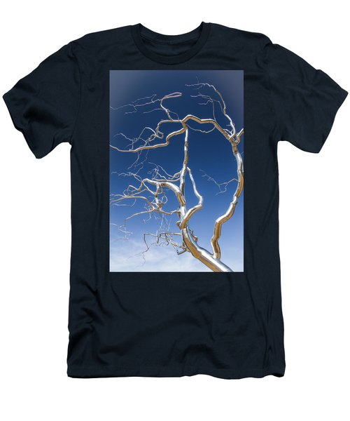 Branches Of Silver Men's T-Shirt (Slim Fit) by Steven Bateson