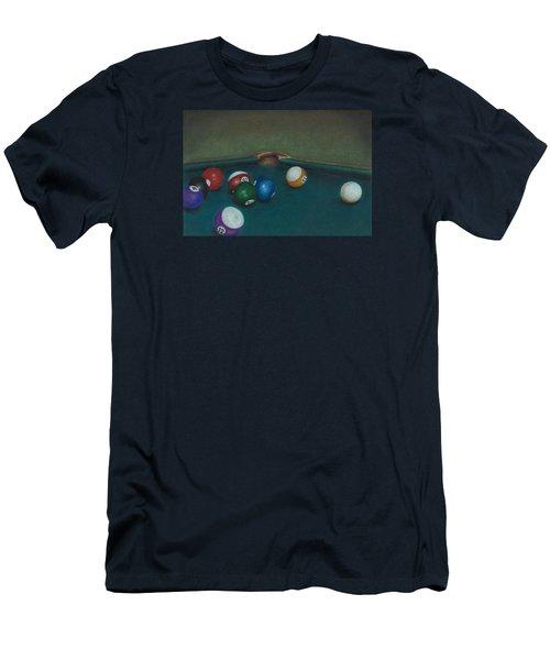 Break Men's T-Shirt (Slim Fit) by Troy Levesque
