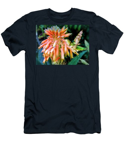 Breakfast For A Hummer Men's T-Shirt (Athletic Fit)